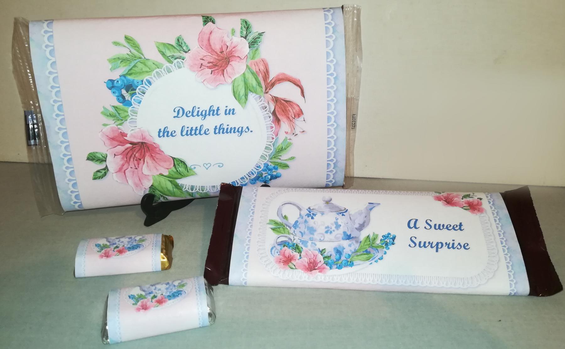 Teabag envelopes teatime