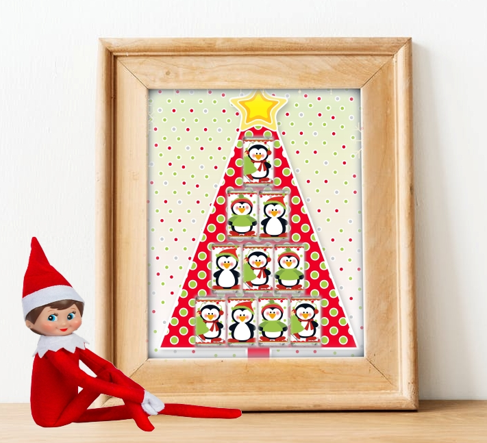hanging Christmas tree